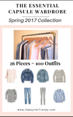 The Essential Capsule Wardrobe e-Book: Spring 2017 Collection