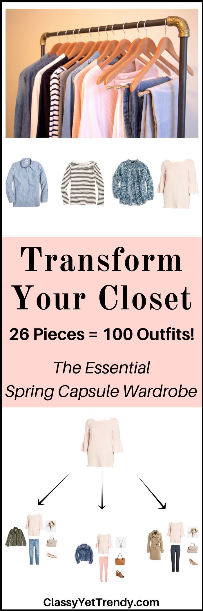 Essential Capsule Wardrobe e-book- Spring 2017