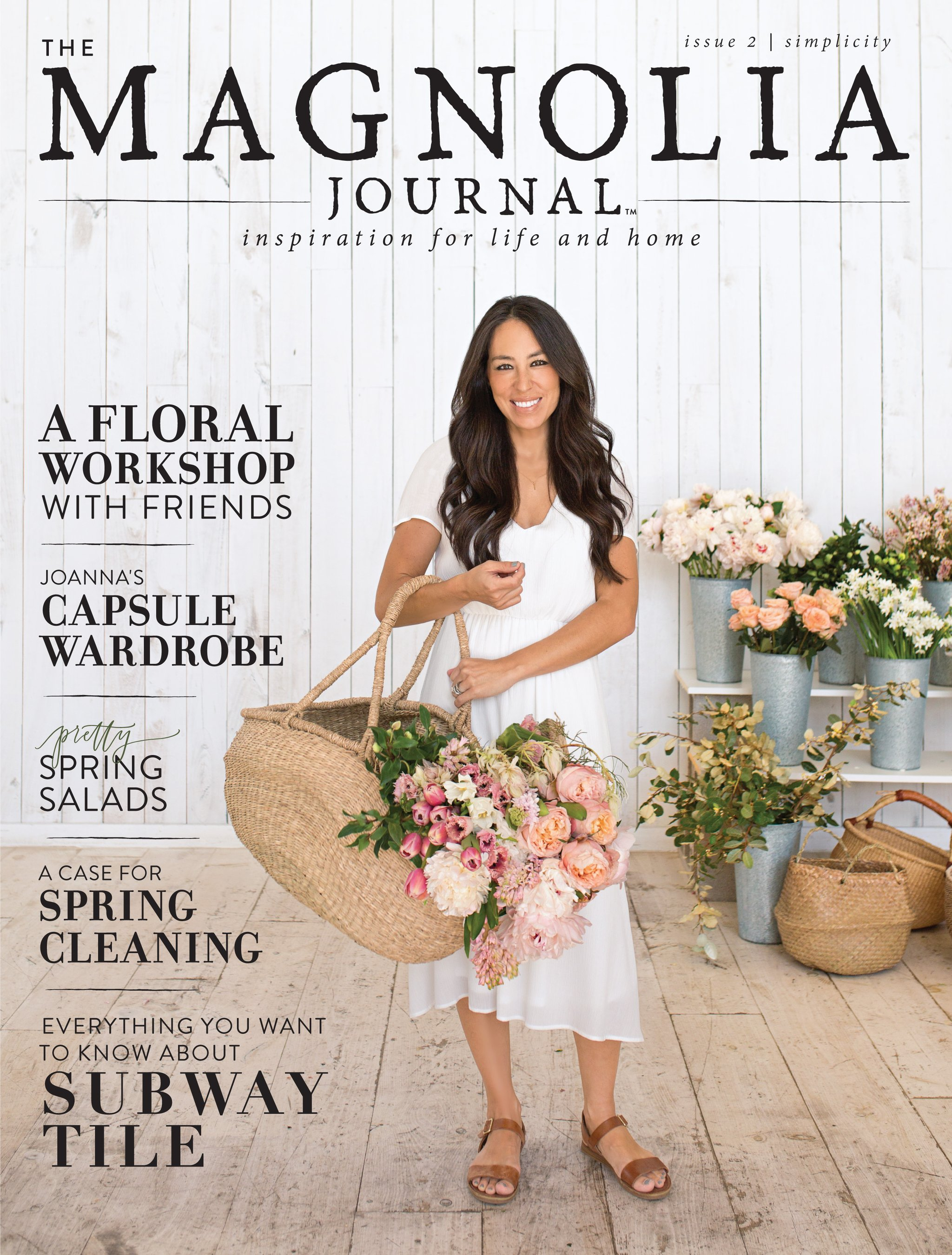 The Magnolia Journal Magazine Premier Issue #1 One Chip Joanna Gaines 2016