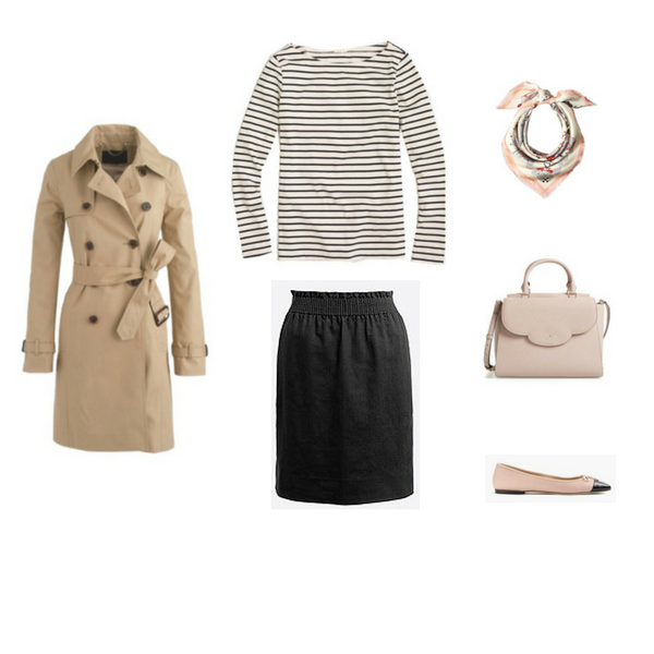 The French Minimalist Capsule Wardrobe: Spring 2017 Collection Outfit #25