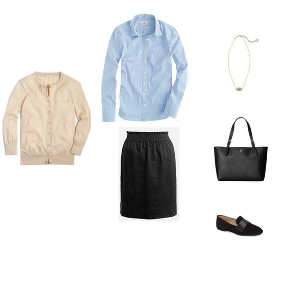 The French Minimalist Capsule Wardrobe: Spring 2017 Collection Outfit #55