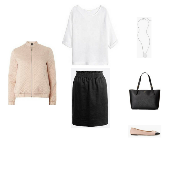 The French Minimalist Capsule Wardrobe: Spring 2017 Collection Outfit #84