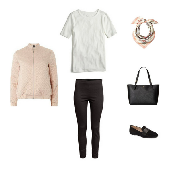 The French Minimalist Capsule Wardrobe: Spring 2017 Collection Outfit #9
