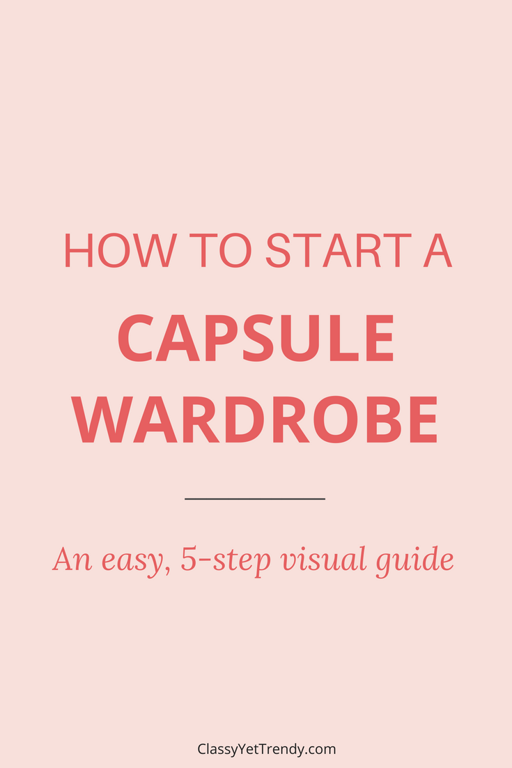 Start a Capsule Wardrobe in 5 Easy Steps