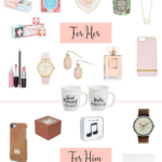 Valentine Gift Guide For Her & Him