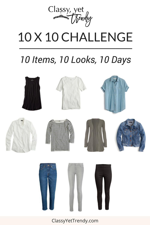 10 x 10 Challenge- Spring 2017