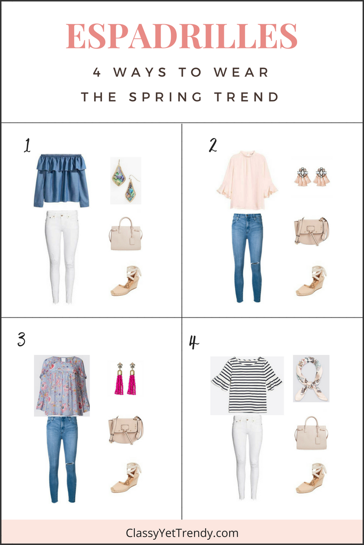 Espadrilles- 4 Ways To Wear The Spring Trend