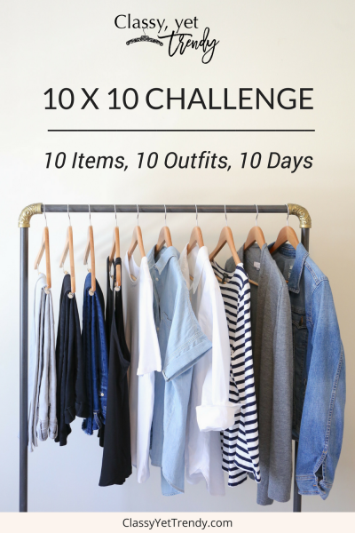 10 x 10 Challenge: 10 Items, 10 Looks, 10 Days