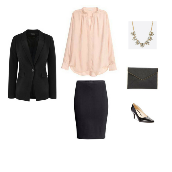 Workwear Capsule Wardrobe: Spring 2017 Outfit 31