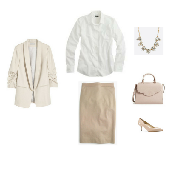 Workwear Capsule Wardrobe: Spring 2017 Outfit 40