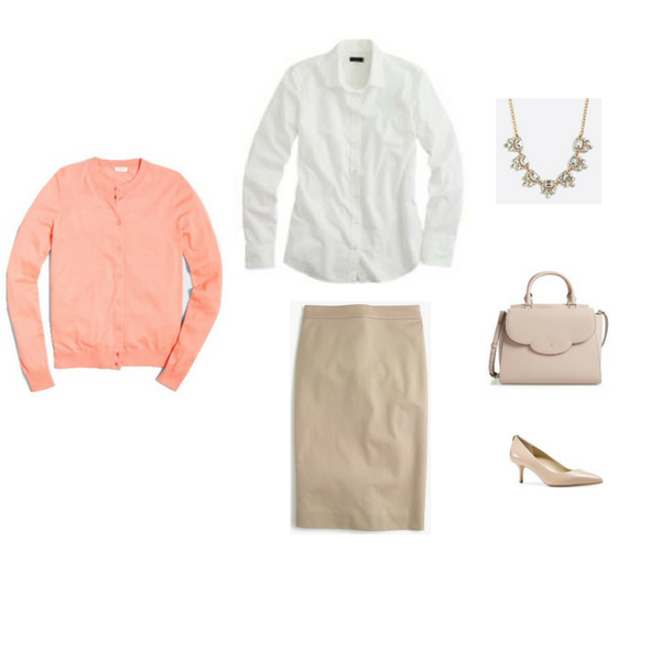 Workwear Capsule Wardrobe: Spring 2017 Outfit 41