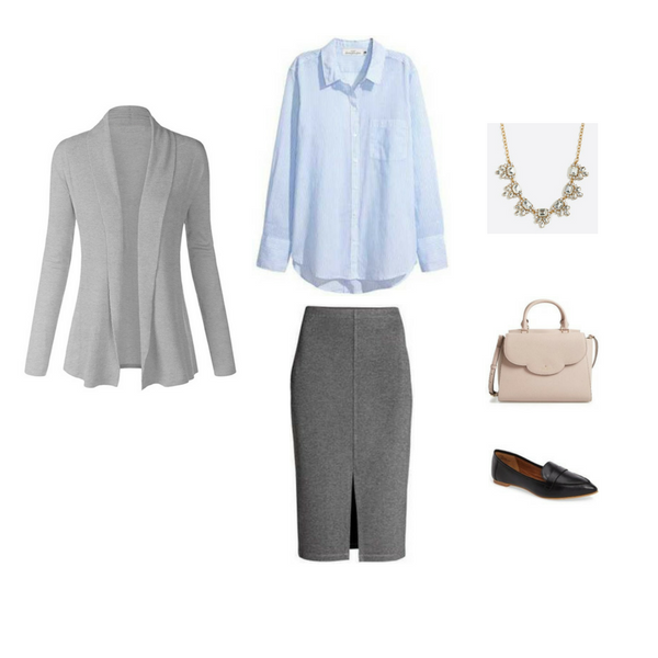 Workwear Capsule Wardrobe: Spring 2017 Outfit 80