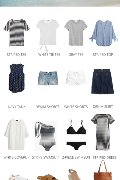 Packing Guide: Spring Break At The Beach