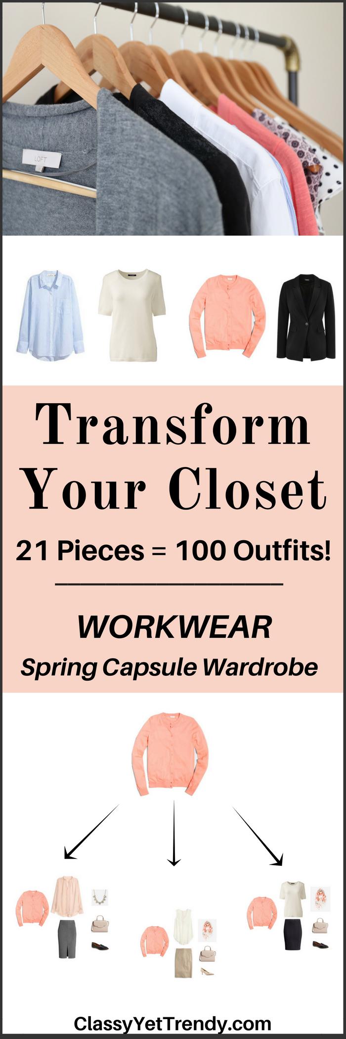 Workwear Capsule Wardrobe e-book- Spring 2017