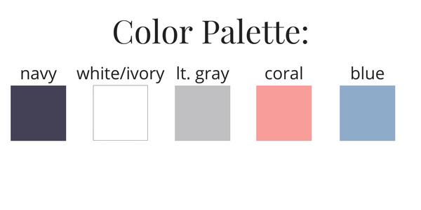 Essential Capsule Wardrobe Summer 2017 Color Palette