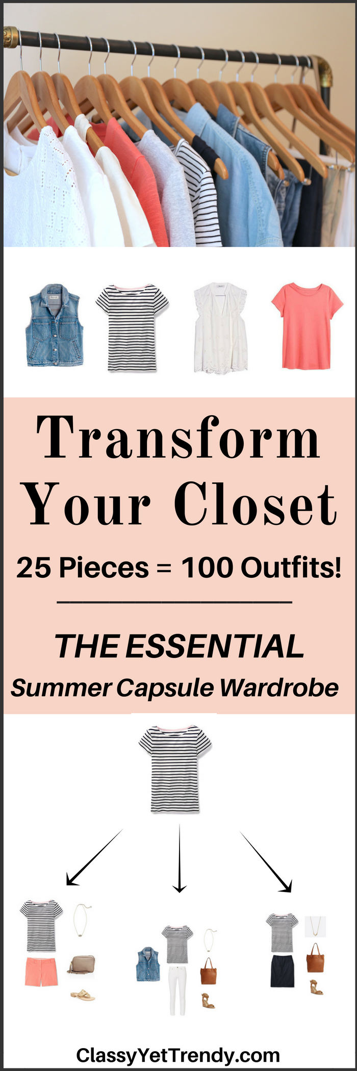 Essential Capsule Wardrobe e-book- Summer 2017
