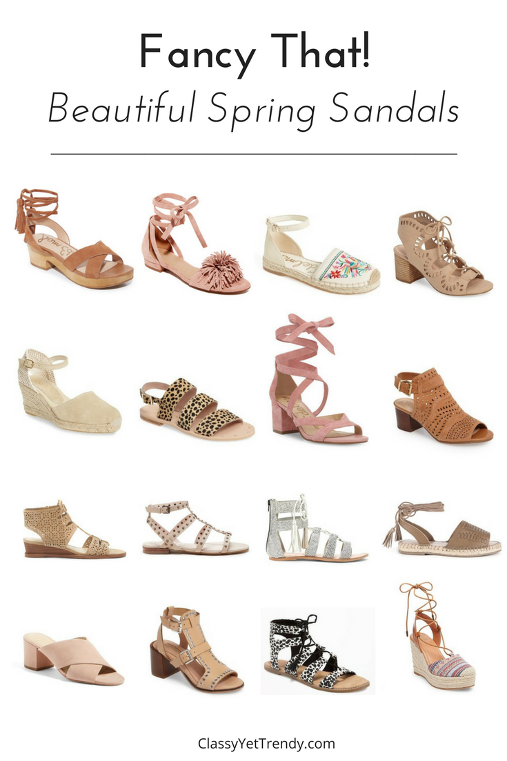 Fancy That! (Beautiful Spring Sandals)