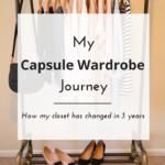 My Capsule Wardrobe Journey (Trendy Wednesday #119)