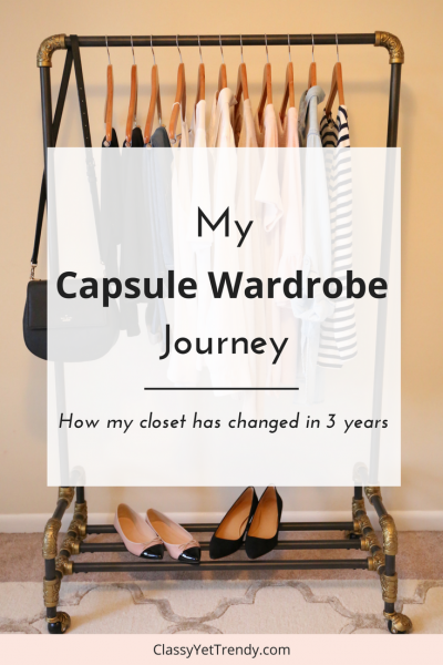 My Capsule Wardrobe Journey (Trendy Wednesday #119)