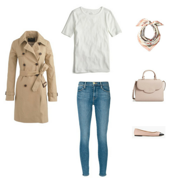 French Minimalist Capsule Wardrobe Spring 2017 - outfit #3