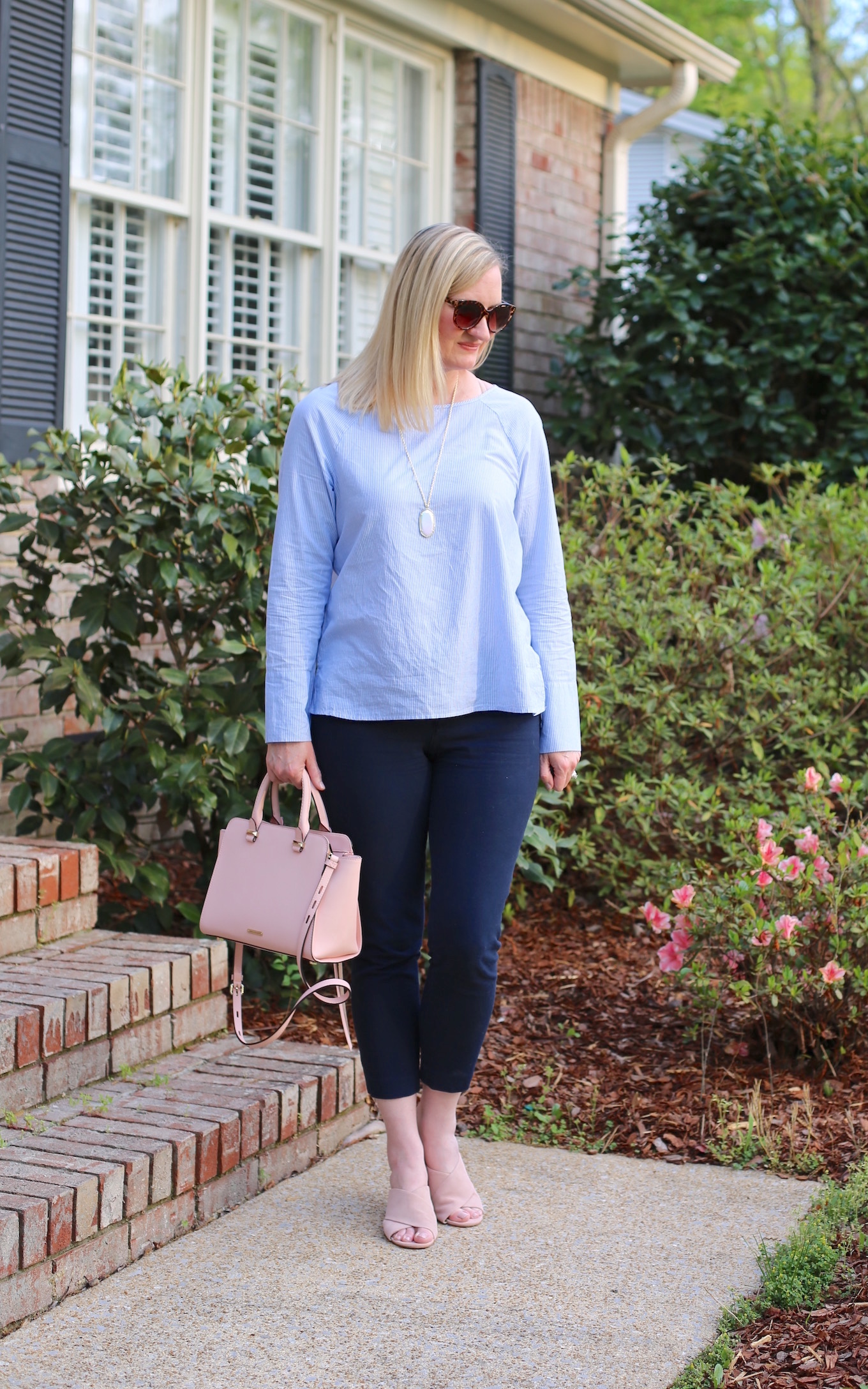 Pink and Blue Outfit