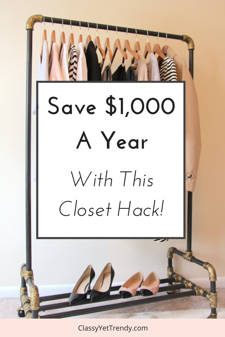 Save $1000 a Year With This Closet Hack