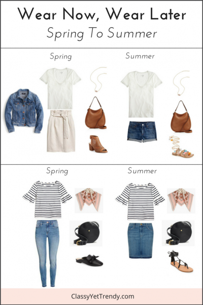 Wear Now, Wear Later: Spring To Summer