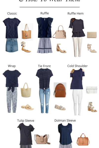 8 Types of Tees and How To Wear Them