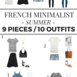 9 Pieces / 10 Outfits: French Minimalist Summer