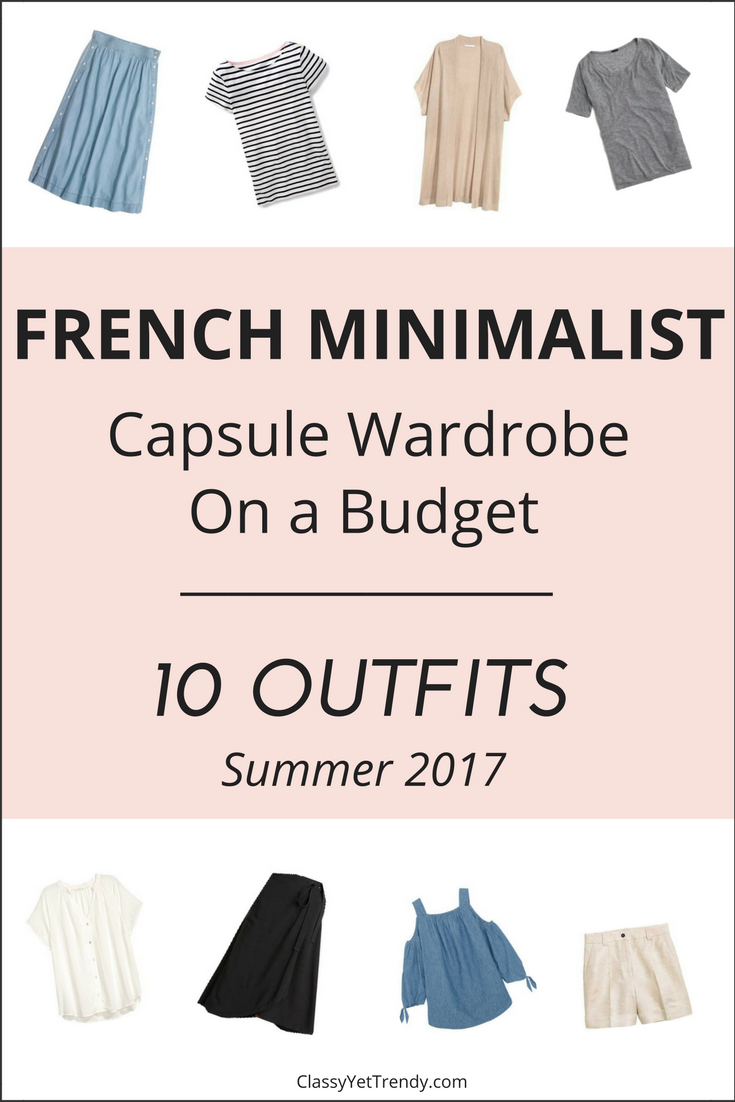 Create a French Minimalist Capsule Wardrobe: 10 Summer ...