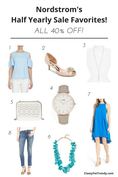 Nordstrom's Half Yearly Sale Favorites 40% Off