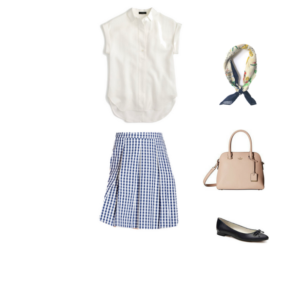 The Workwear Capsule Wardrobe Summer 2017: Outfit #48