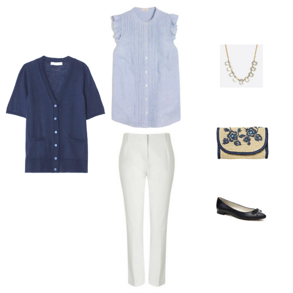 The Workwear Capsule Wardrobe Summer 2017: Outfit #6
