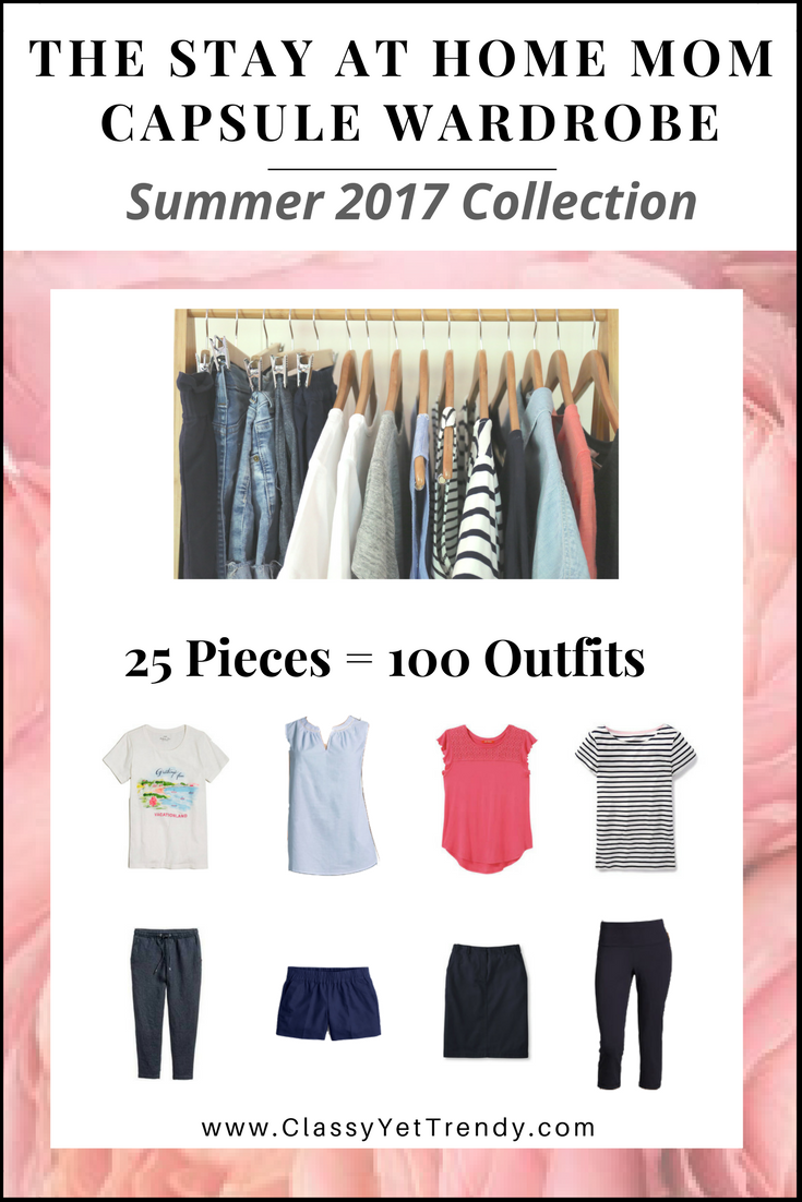 STAY AT HOME MOM CAPSULE WARDROBE Summer 2017 EBook Cover
