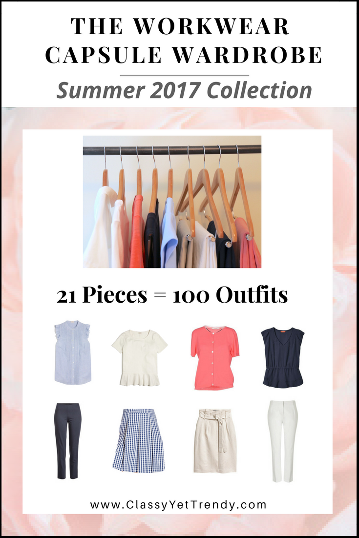 The Workwear Capsule Wardrobe: Summer 2017 Collection