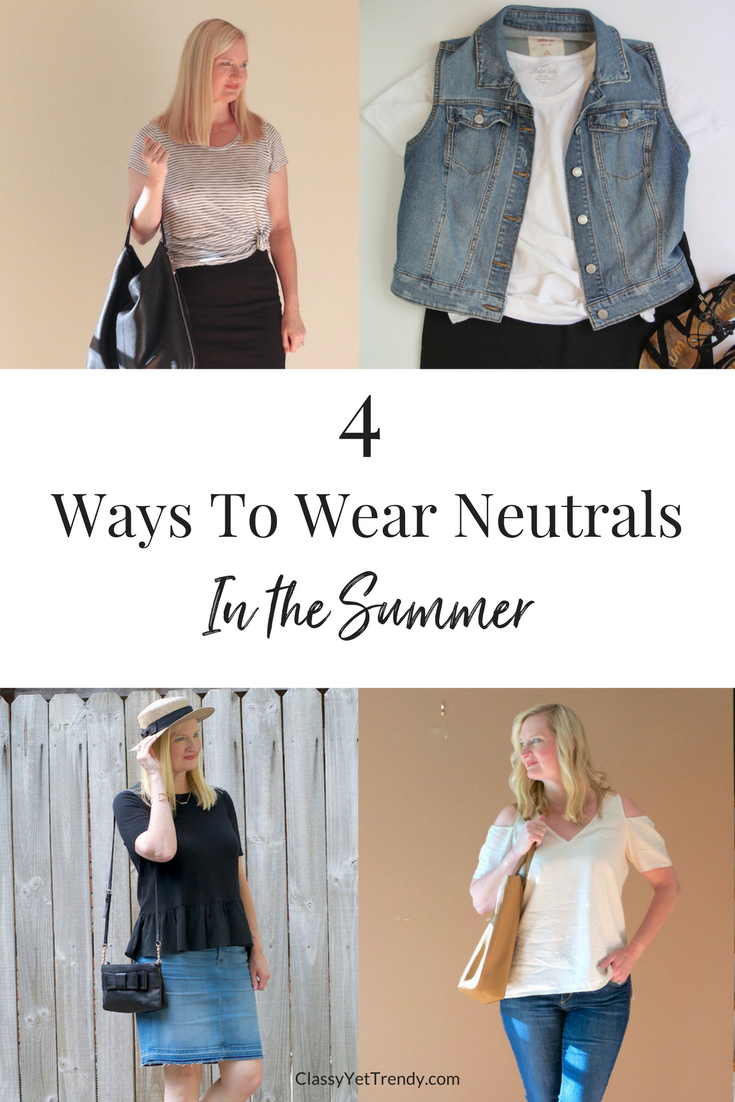 4 Ways To Wear Neutrals (Trendy Wednesday #126)