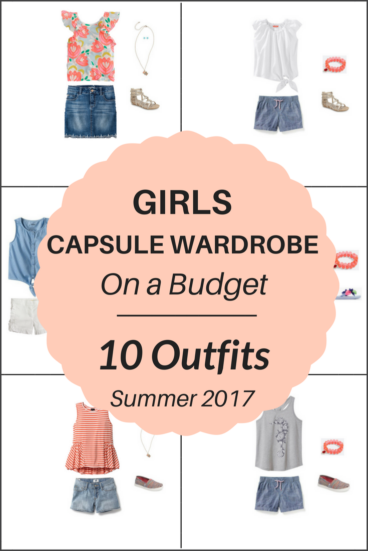10 Summer Makeup Must Haves: Create A Girl's Capsule Wardrobe On A Budget: 10 Summer