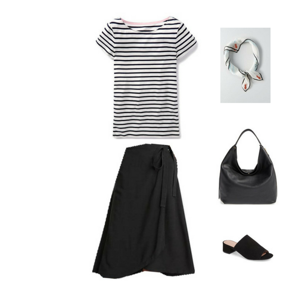 How To Wear a Striped Tee - Outfit #1