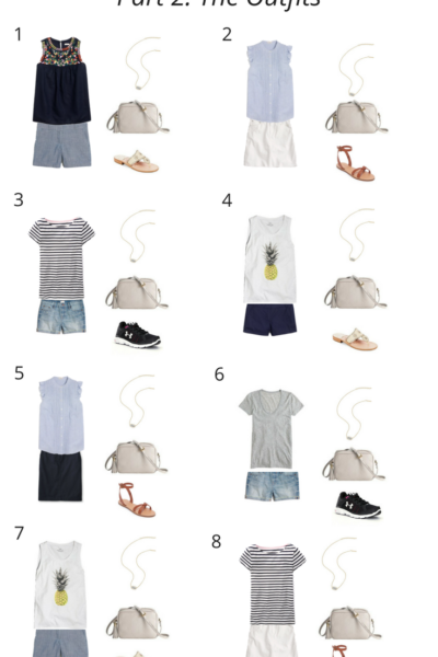 Summer Vacation Packing Guide Part 2- The Outfits