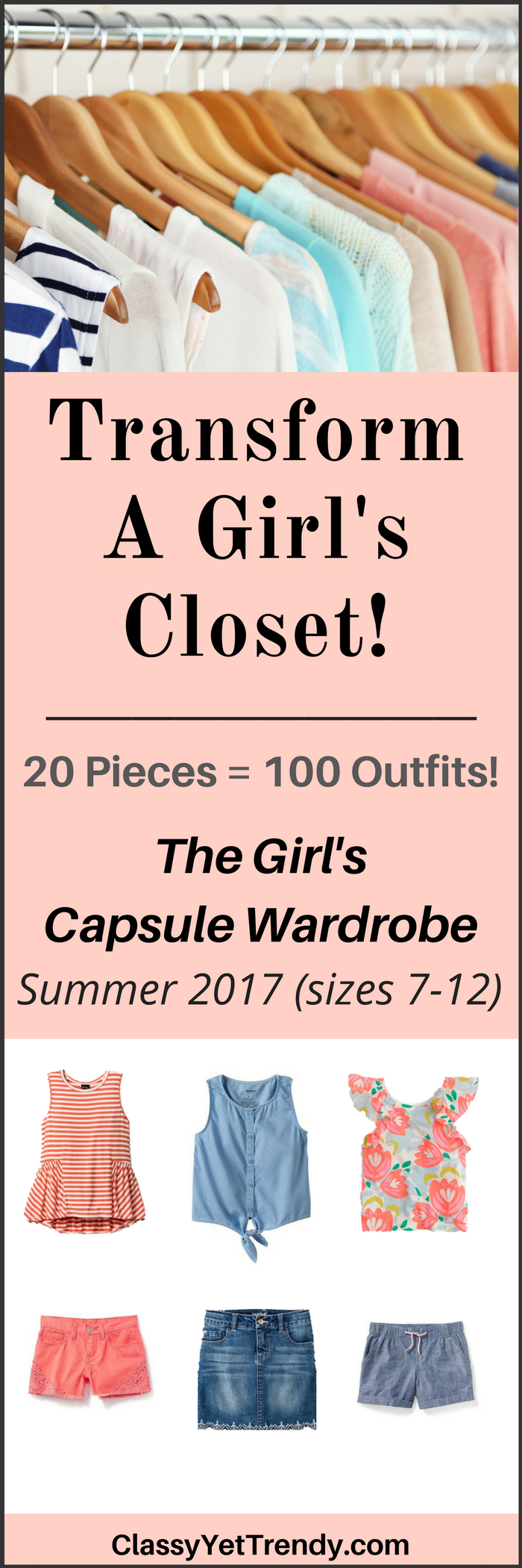 The Girls Summer 2017 Capsule Wardrobe e-book
