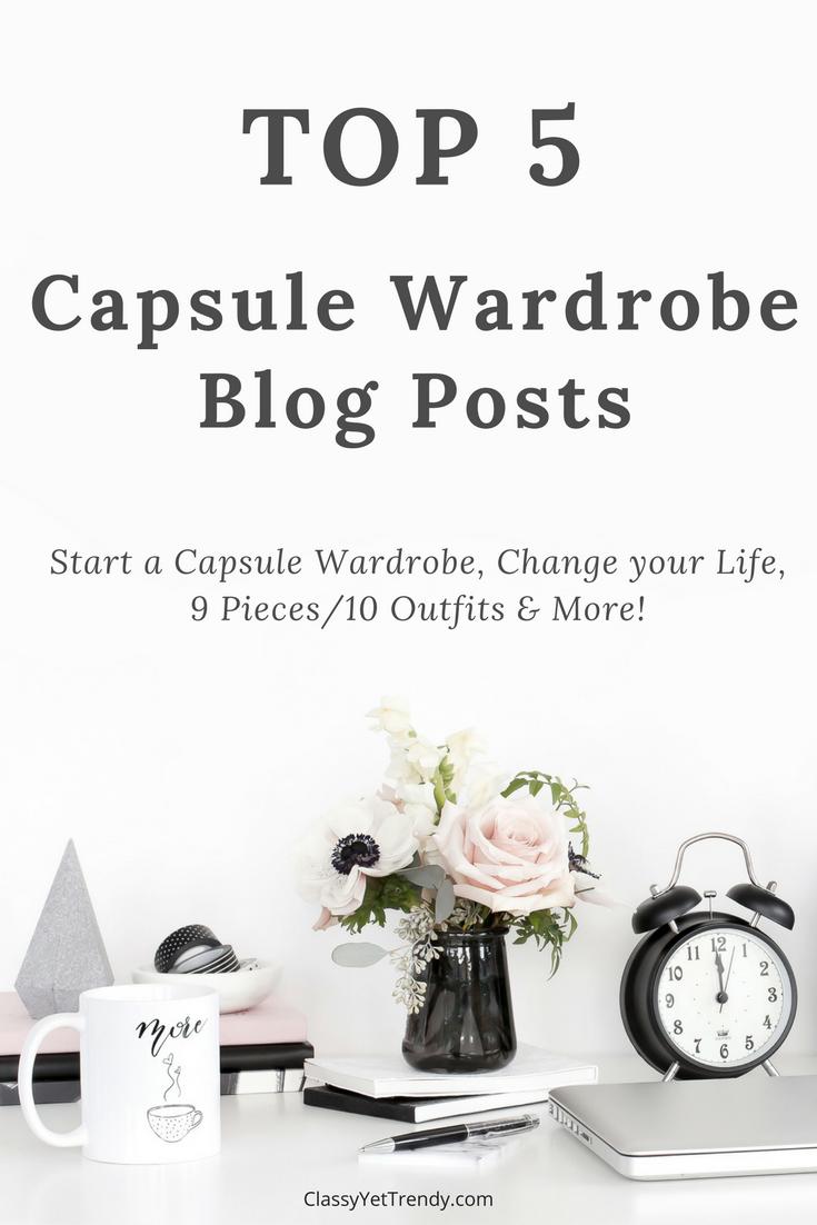 Top 5 Capsule Wardrobe Blog Posts