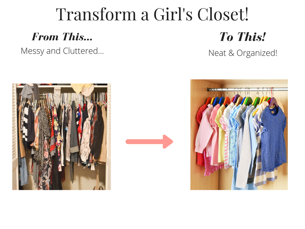 Transform A Girl's Closet Summer 2017