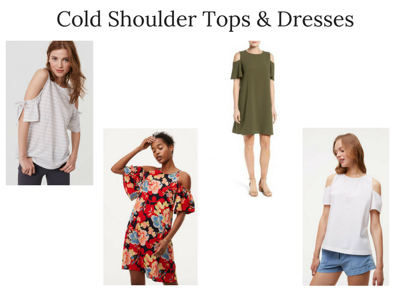Summer 2017 Trends Report: Cold Shoulder Tops and Dresses