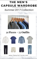 The Men's Capsule Wardrobe: Summer 2017 Collection