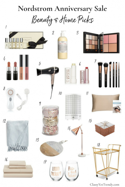 Nordstrom Anniversary Sale- Beauty and Home Picks