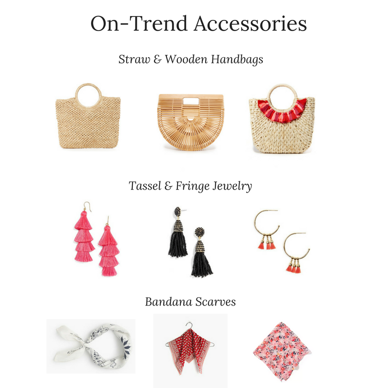 Summer 2017 Trend Report- Handbags & Accessories-