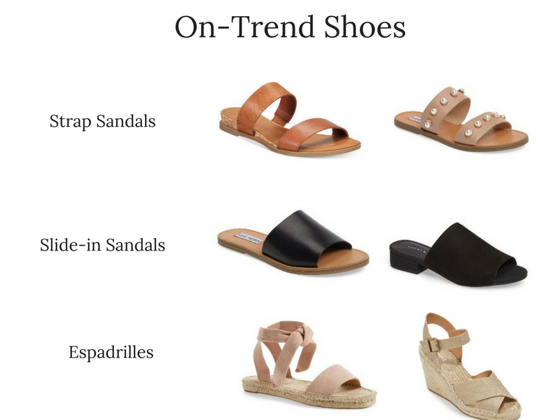 Summer 2017 Trend Report- On-Trend Shoes