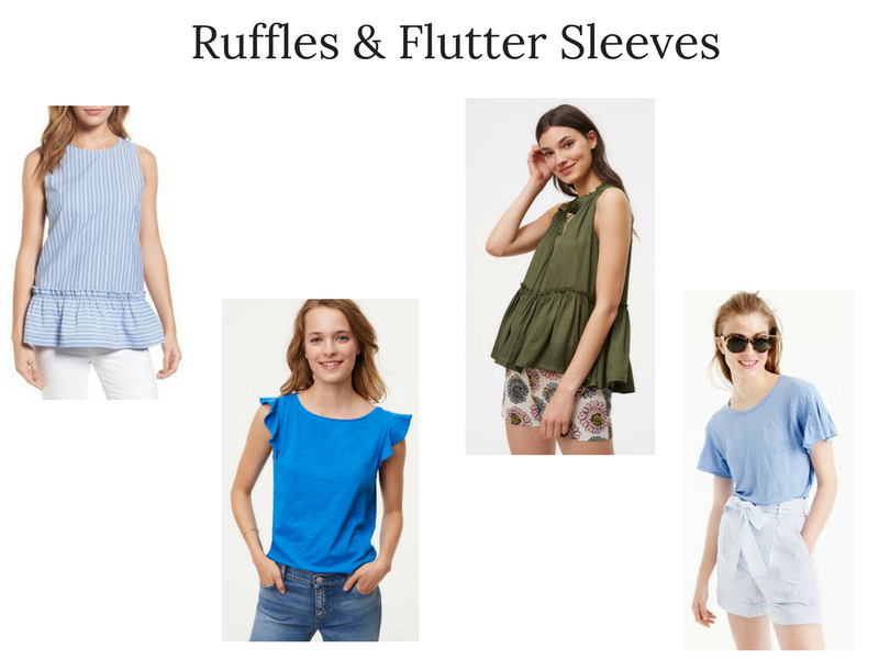 Summer 2017 Trend Report- Ruffles & Flutter-Sleeves