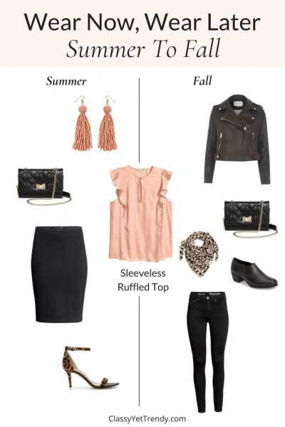 Wear Now, Wear Later: Summer To Fall (TW #130)