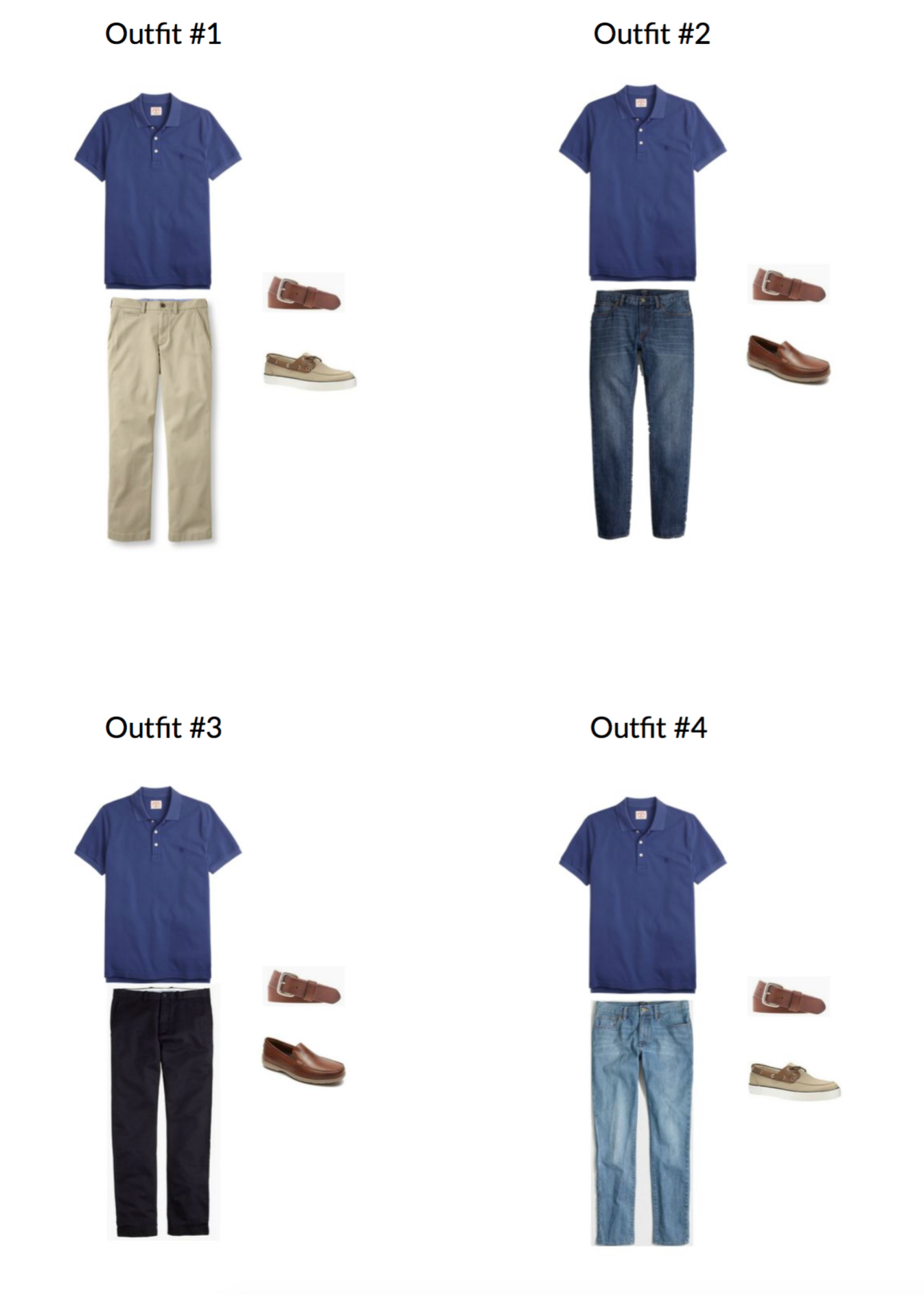 The Men's Capsule Wardrobe: Summer 2017 sample page2